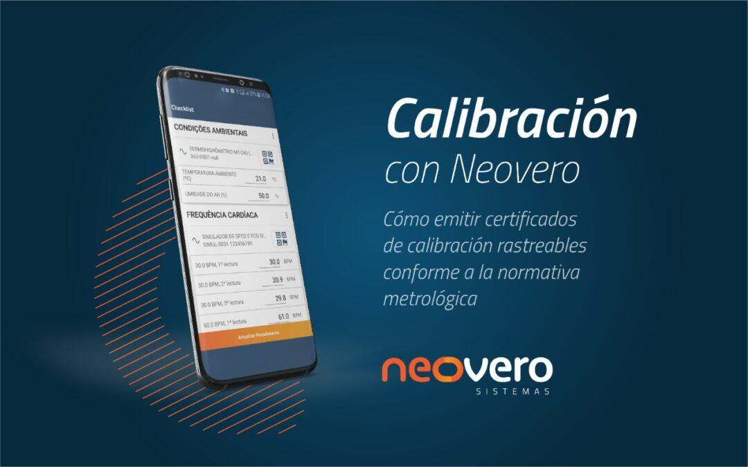 Calibración con Neovero